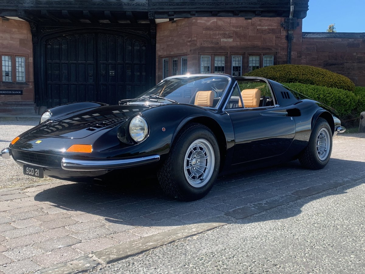 1974 Ferrari Dino GTS- 1 of only 7 original RHD Chairs & Flares For Sale (picture 3 of 6)