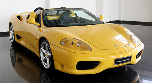 Ferrari 360 Spider - Manual Gearbox (2002)