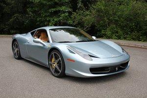 Lot 122 2011 Ferrari 458 Italia