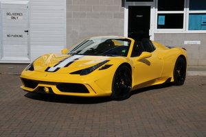 2015 Ferrari 458 Speciale Aperta - UK RHD For Sale