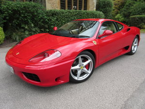 2001 SOLD-ANOTHER KEENLY REQUIRED- Ferrari 360 Modena manual For Sale
