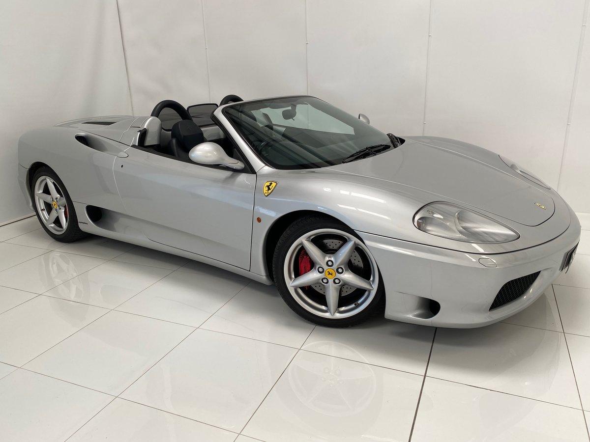2001 Ferrari F360 Spider Manual For Sale (picture 1 of 6)