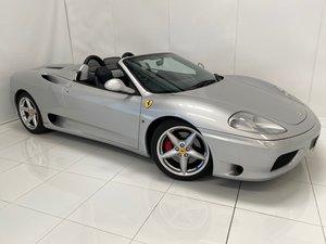 2001 Ferrari F360 Spider Manual