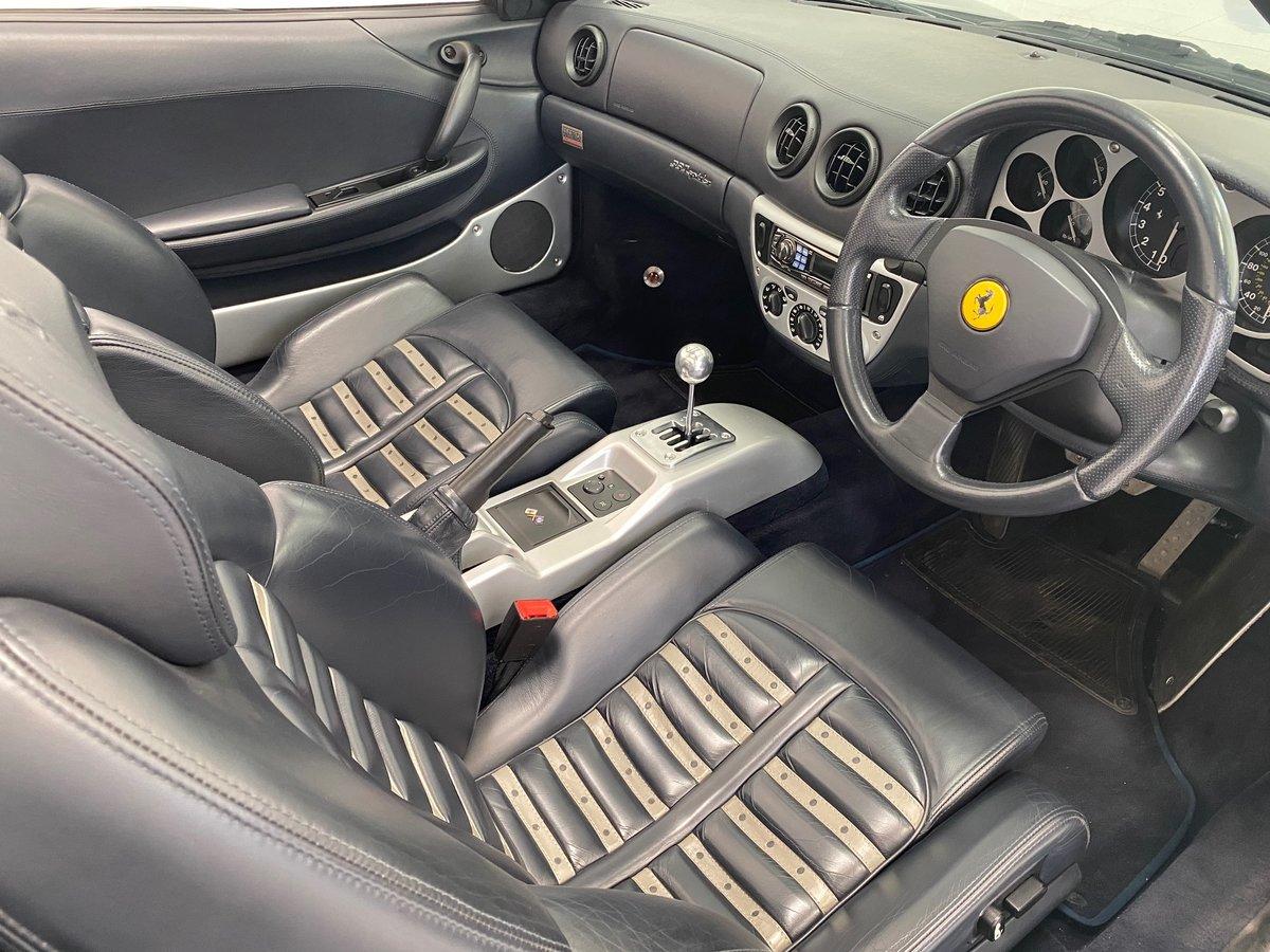 2001 Ferrari F360 Spider Manual For Sale (picture 3 of 6)