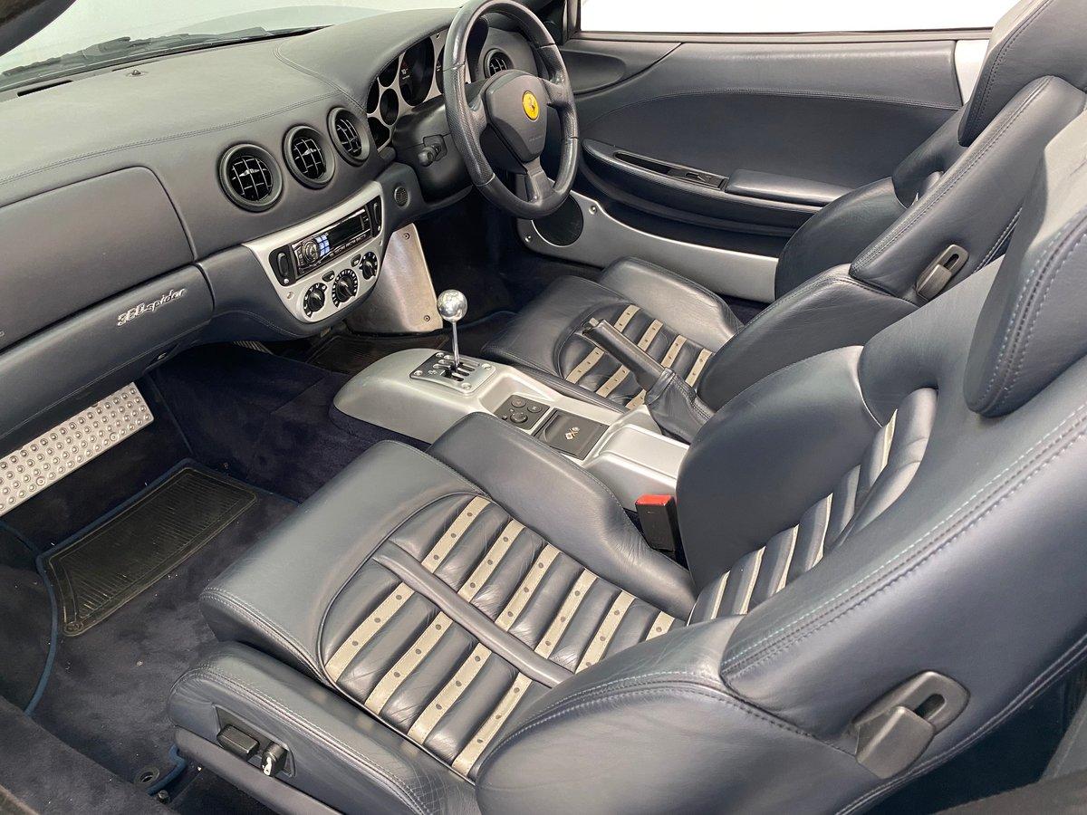 2001 Ferrari F360 Spider Manual For Sale (picture 6 of 6)