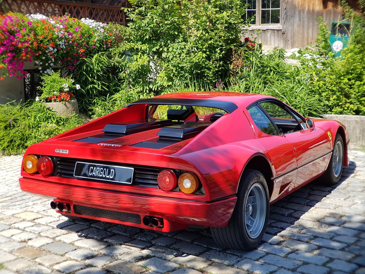 1981 Ferrari 512 BB,  64.536 km original! Two owners from new For Sale (picture 6 of 6)