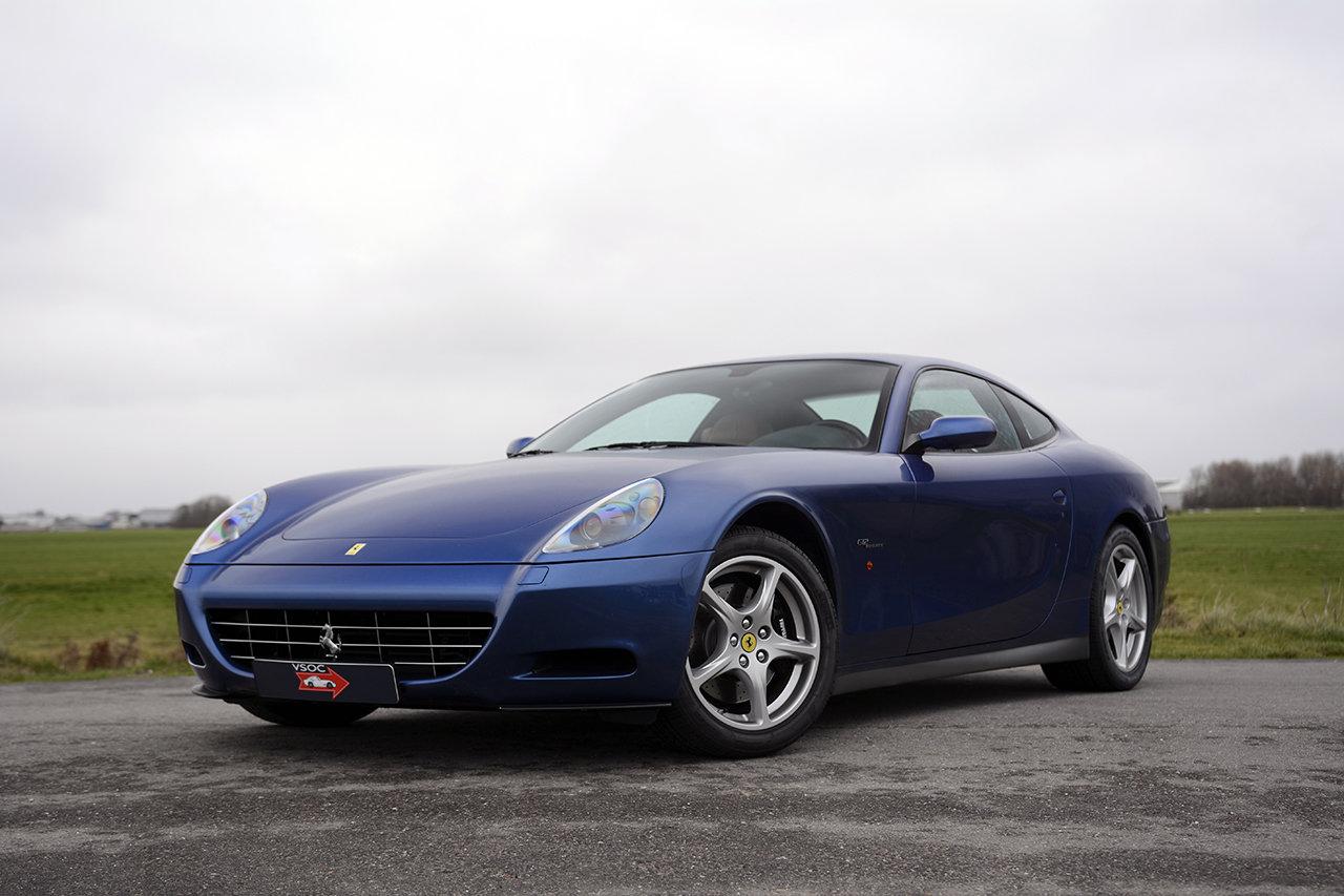 2005 Ferrari 612 Scaglietti - Blu Mirabeau, very nice low mileage For Sale (picture 1 of 6)