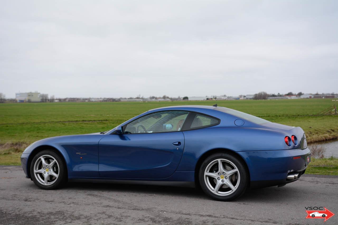 2005 Ferrari 612 Scaglietti - Blu Mirabeau, very nice low mileage For Sale (picture 2 of 6)