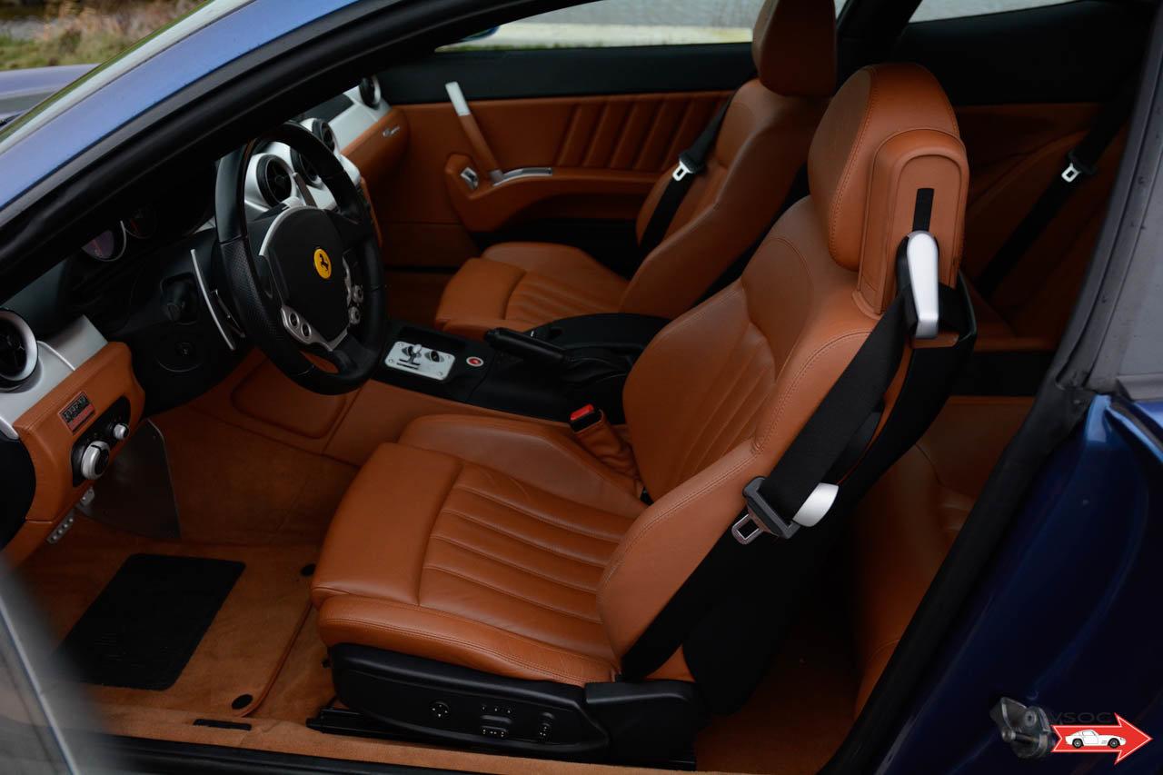 2005 Ferrari 612 Scaglietti - Blu Mirabeau, very nice low mileage For Sale (picture 3 of 6)