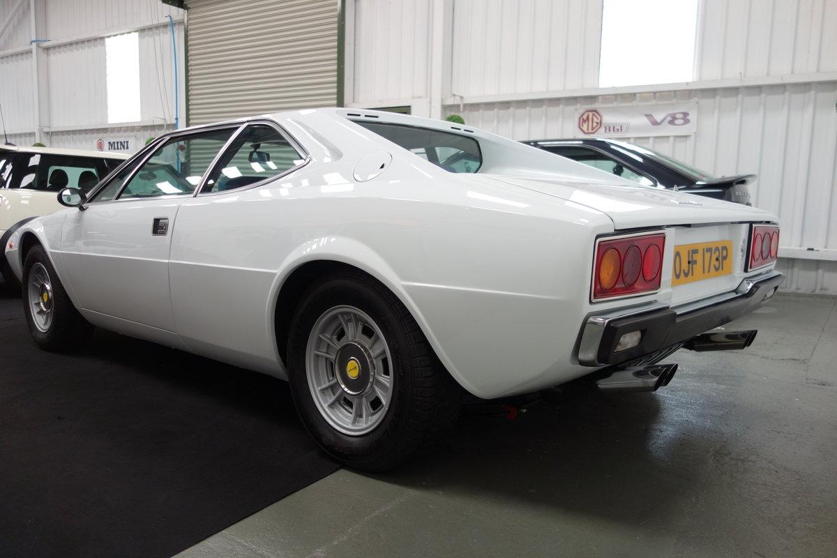 1976 Ferrari 308 GT4 Dino  in original Bianco Polo For Sale (picture 3 of 6)