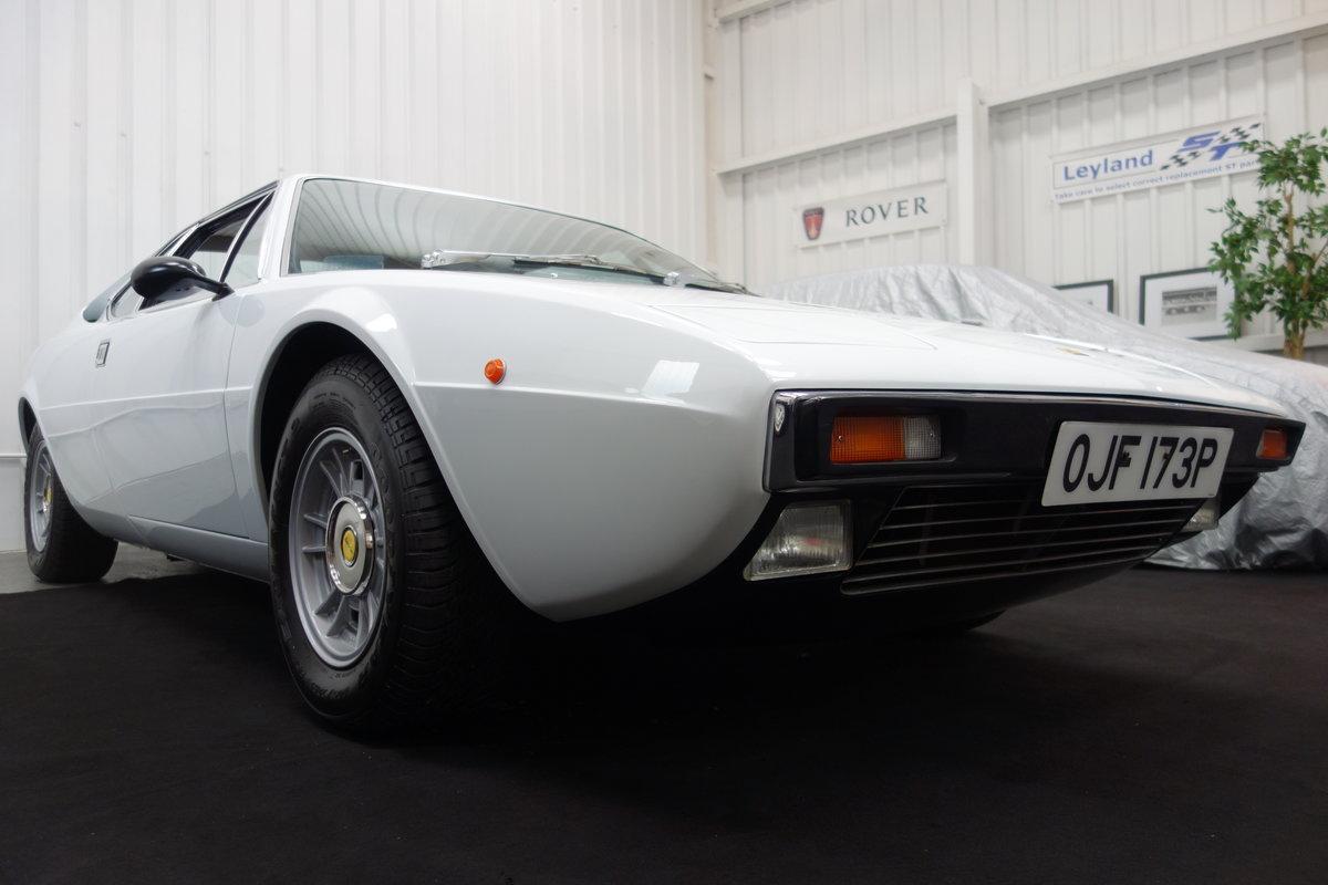 1976 Ferrari 308 GT4 Dino  in original Bianco Polo For Sale (picture 1 of 6)
