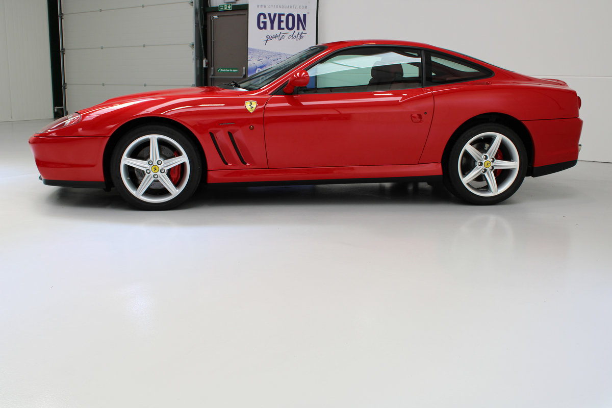 2005 Ferrari 575M Only 3,225 km Original & Documented For Sale (picture 2 of 6)