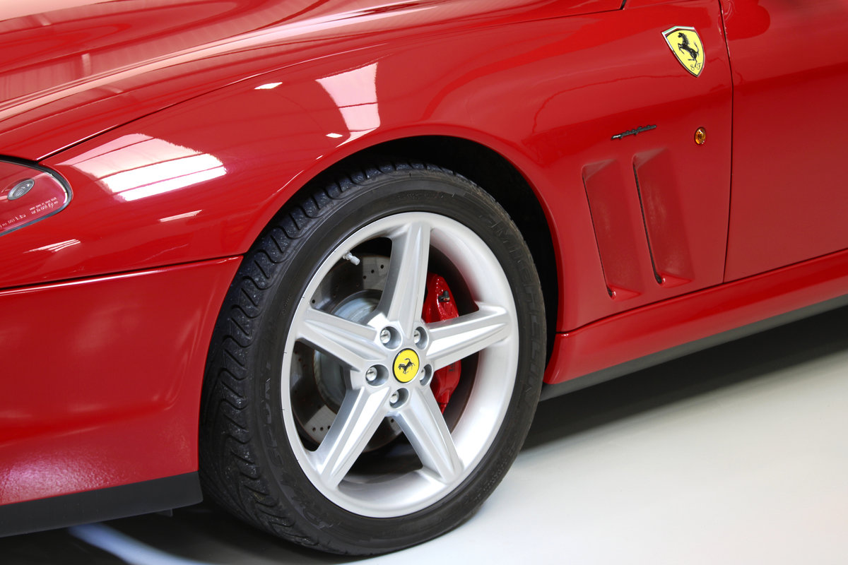 2005 Ferrari 575M Only 3,225 km Original & Documented For Sale (picture 6 of 6)