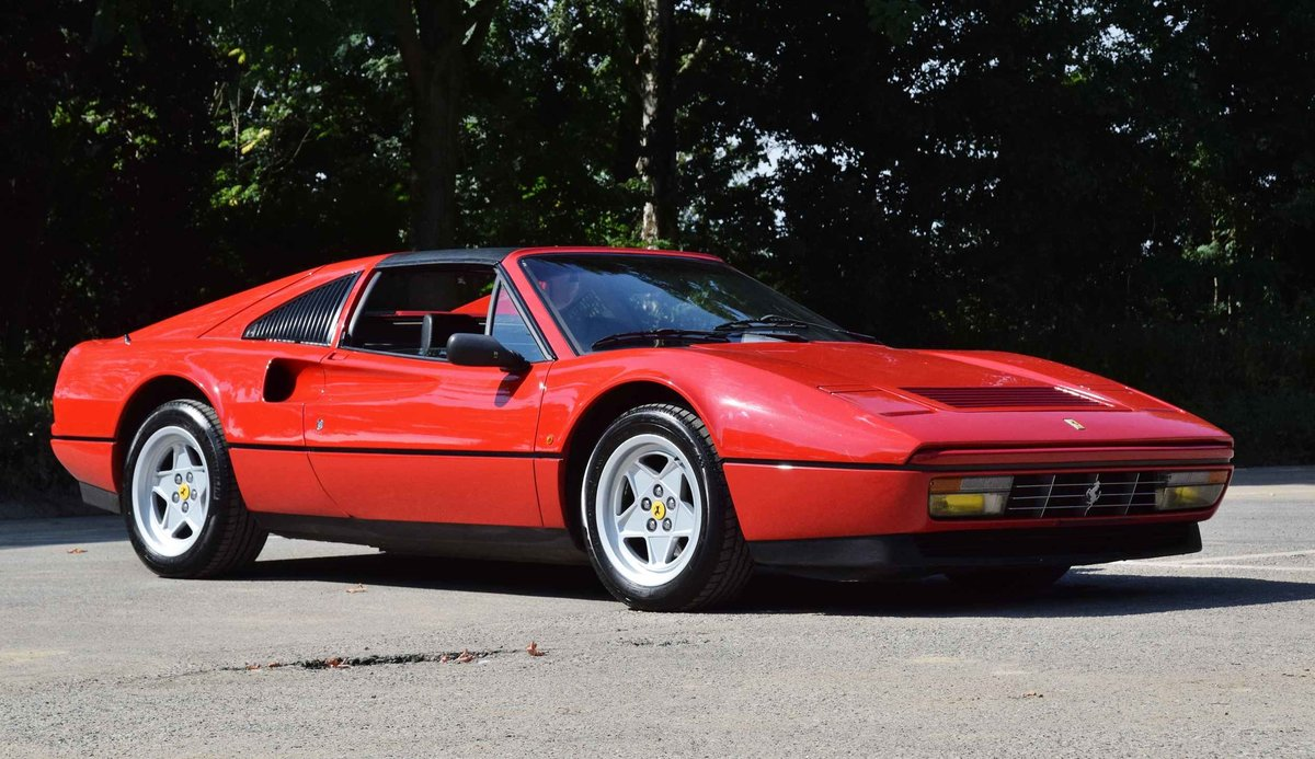 Ferrari 328 GTS Quattrovalvole (1987) convertible red 270 hp For Sale (picture 1 of 6)