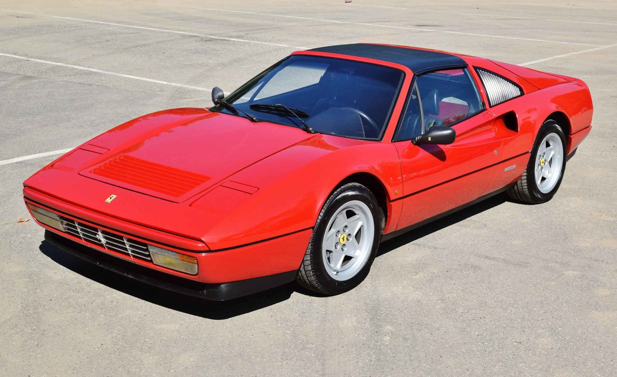 Ferrari 328 GTS Quattrovalvole (1987) convertible red 270 hp For Sale (picture 3 of 6)