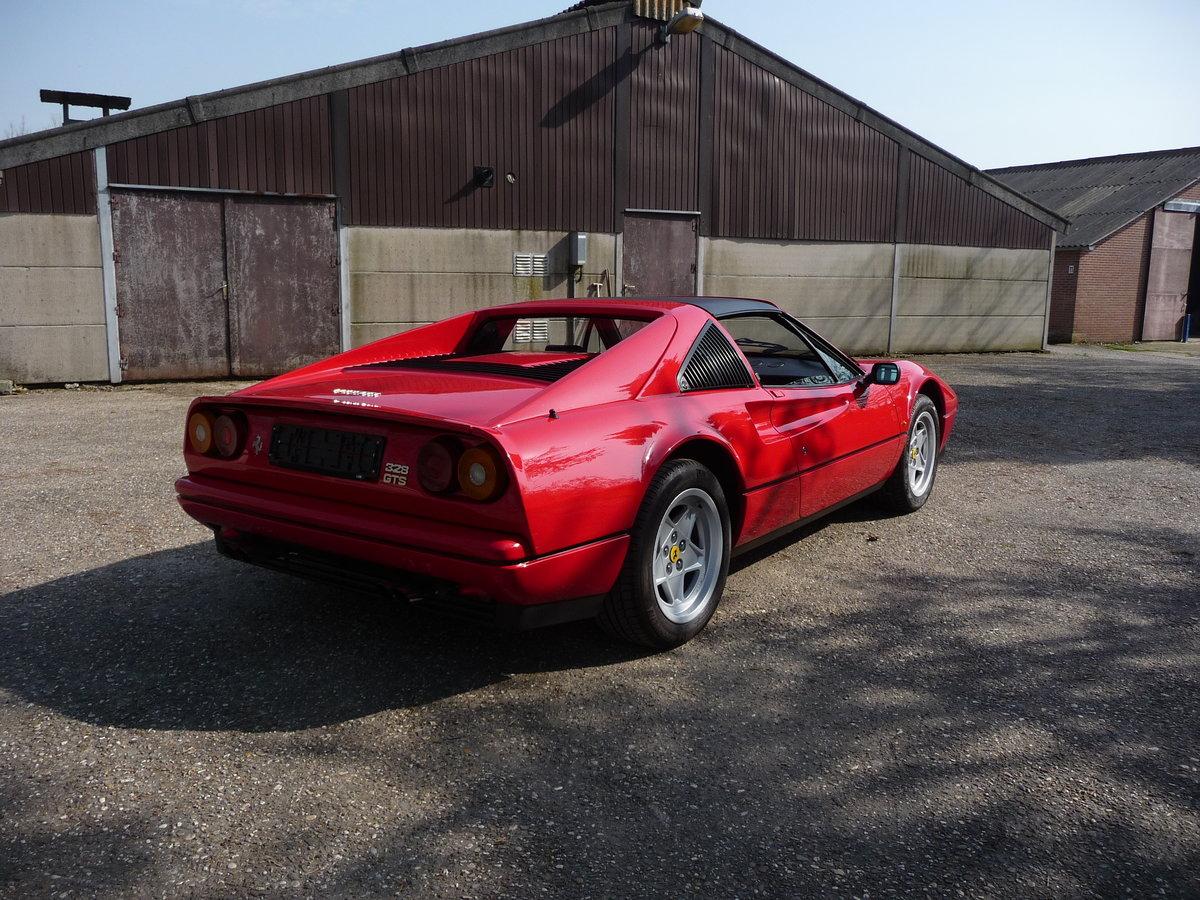 Ferrari 328 GTS Quattrovalvole (1987) convertible red 270 hp For Sale (picture 4 of 6)