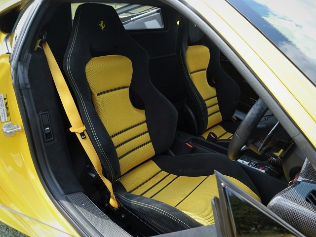 2014 Ferrari 458 Speciale - Yellow/Gry Stripes - 2,607 mls  For Sale (picture 4 of 6)