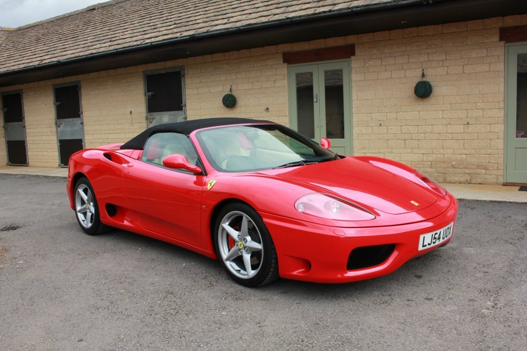 2005 FERRARI 360 SPIDER F1  For Sale (picture 1 of 20)