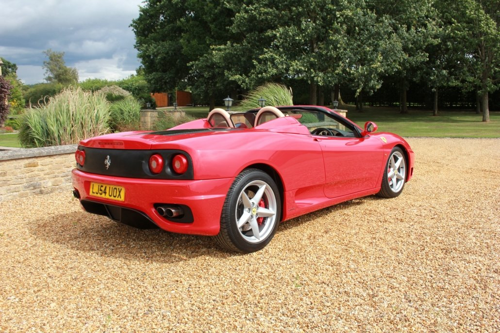 2005 FERRARI 360 SPIDER F1  For Sale (picture 5 of 20)