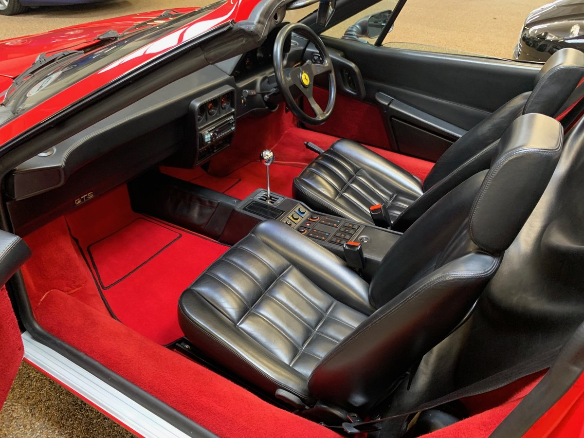 1989 FERRARI 328 GTS FOR SALE ** GREAT HISTORY FILE ** For Sale (picture 5 of 6)