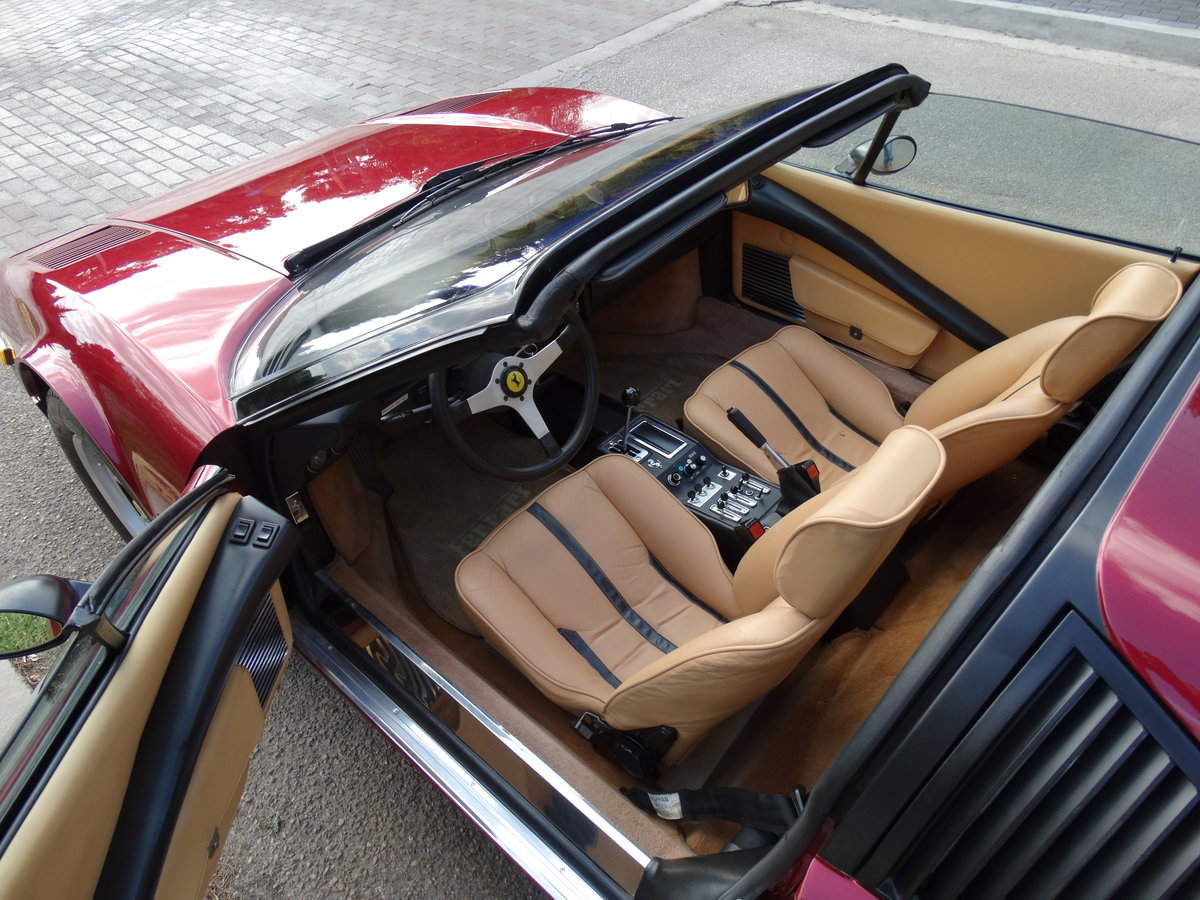 1978 Ferrari GTS, Rosso Rubino with beige, show condition For Sale (picture 5 of 6)