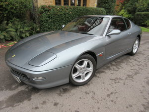 SOLD-ANOTHER REQUIRED Ferrari 456 M GTautomatic One of 16