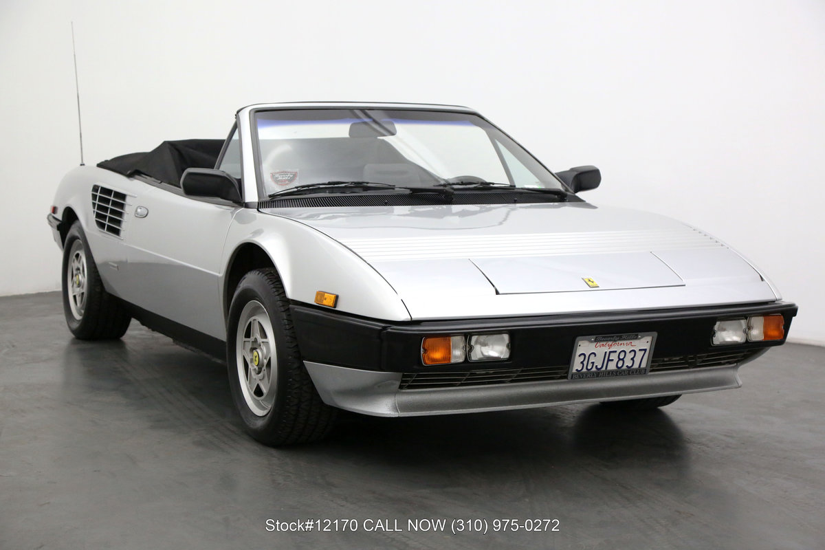 1984 Ferrari Mondial Cabriolet For Sale (picture 1 of 6)