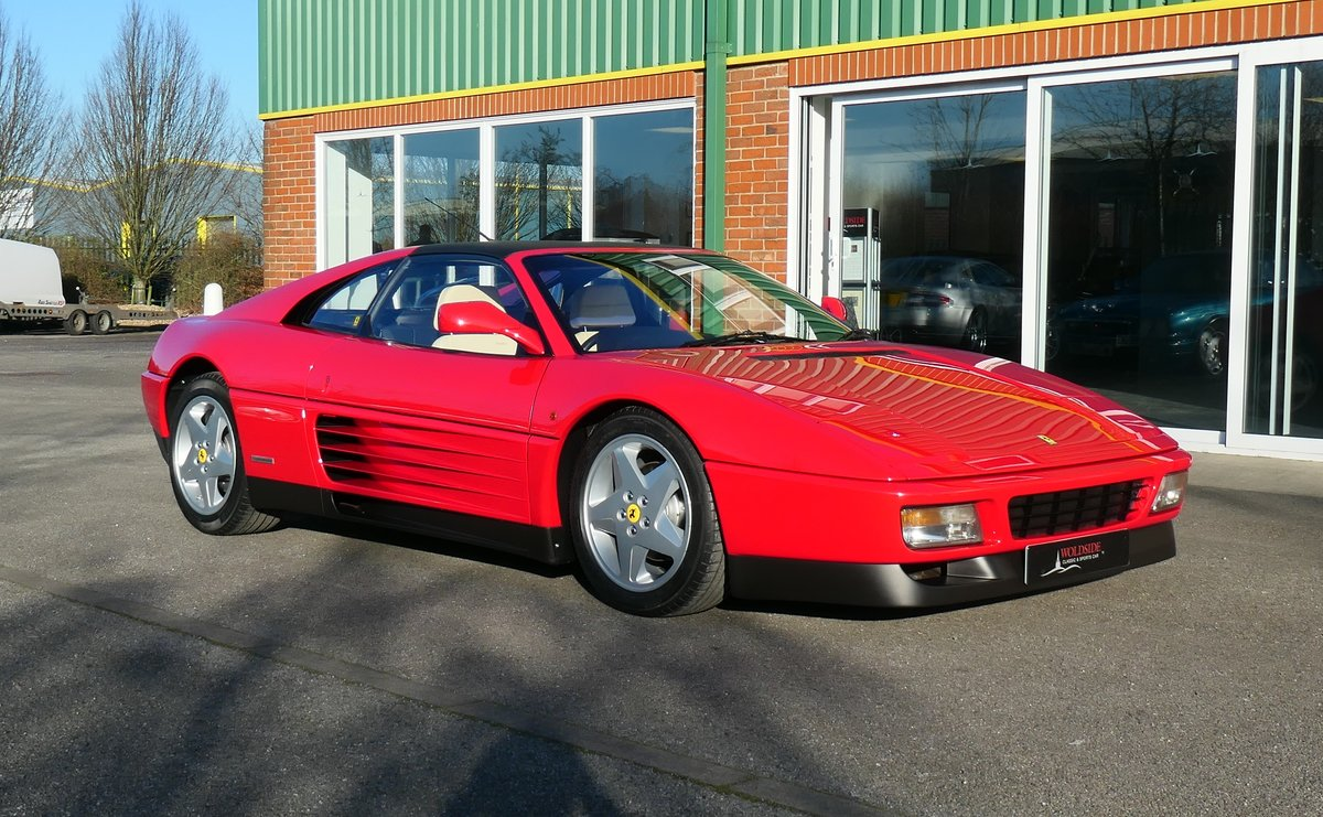 Beautiful 1992 RHD Ferrari 348TS with Low Mileage For Sale (picture 1 of 6)