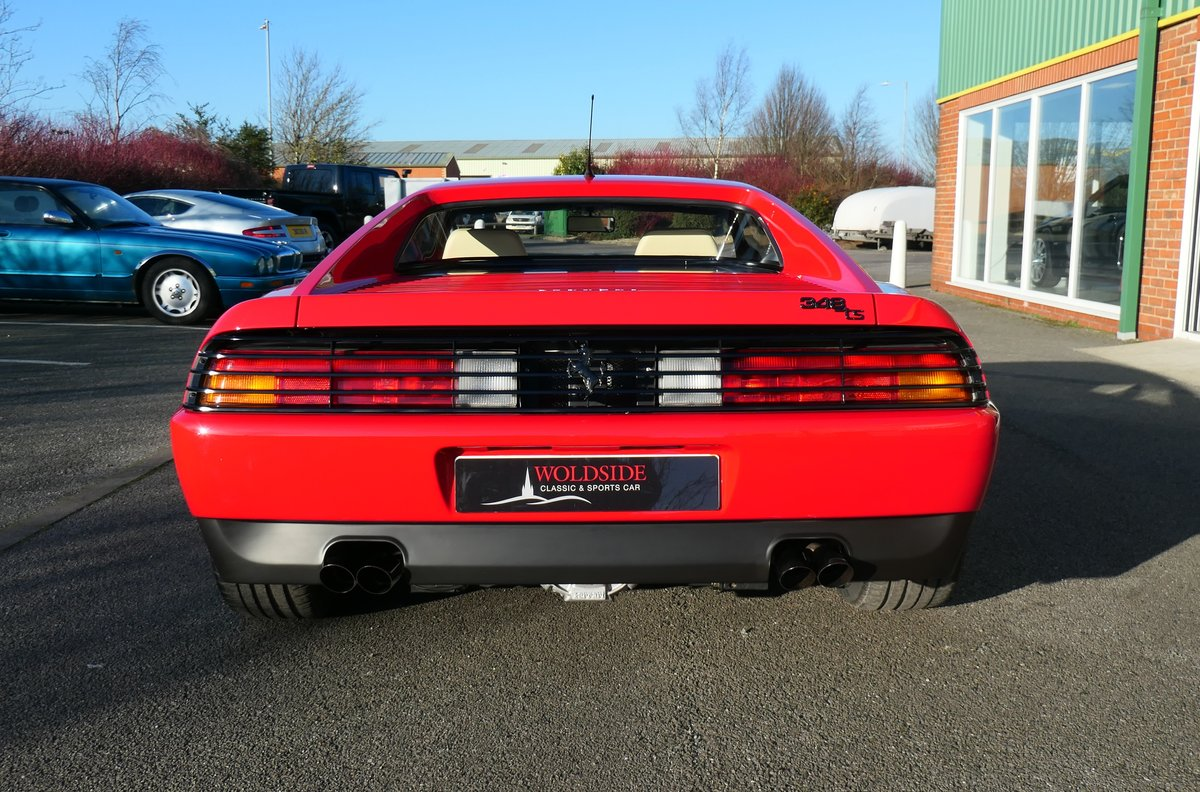 Beautiful 1992 RHD Ferrari 348TS with Low Mileage For Sale (picture 2 of 6)
