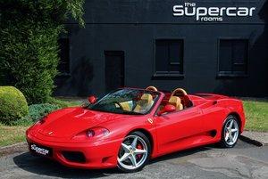 Ferrari 360 Spider - 28K Miles - F1 - 2003