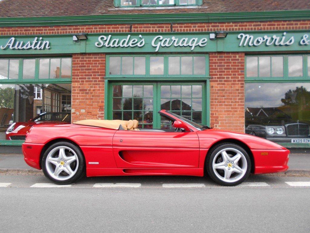 1998 Ferrari 355 Spider F1 For Sale (picture 1 of 4)