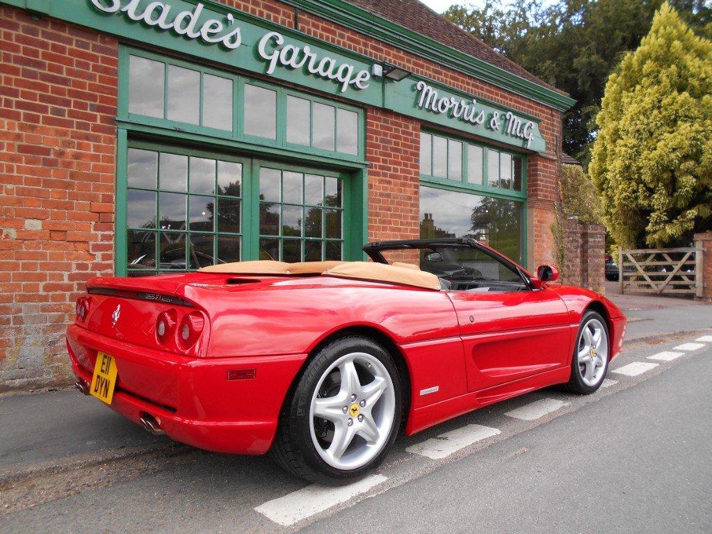 1998 Ferrari 355 Spider F1 For Sale (picture 3 of 4)