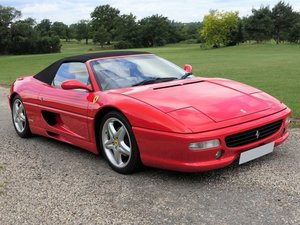 1999 Ferrari 355 F1 Spider - Red/Crema - 35k mls only