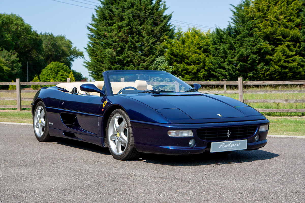 1996 Ferrari F355 Spider Manual For Sale (picture 1 of 6)