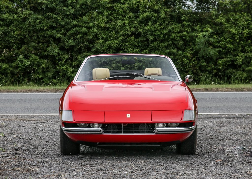 1967 Ferrari 365 4 Daytona Spider by Scaglietti For Sale by Auction (picture 1 of 6)