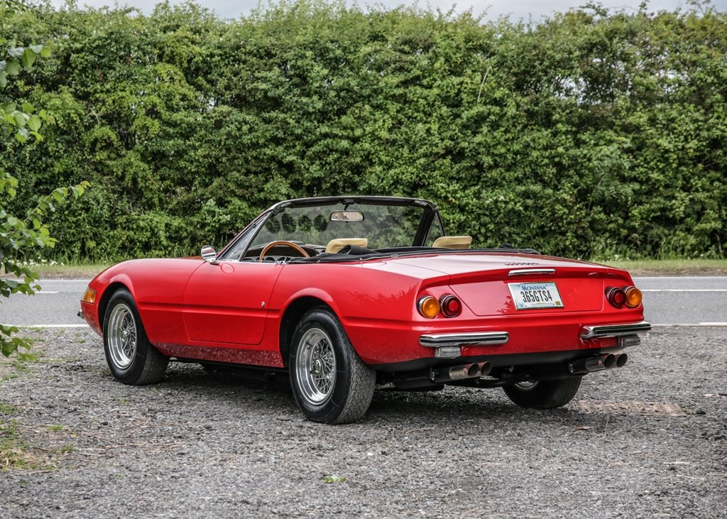 1967 Ferrari 365 4 Daytona Spider by Scaglietti For Sale by Auction (picture 2 of 6)