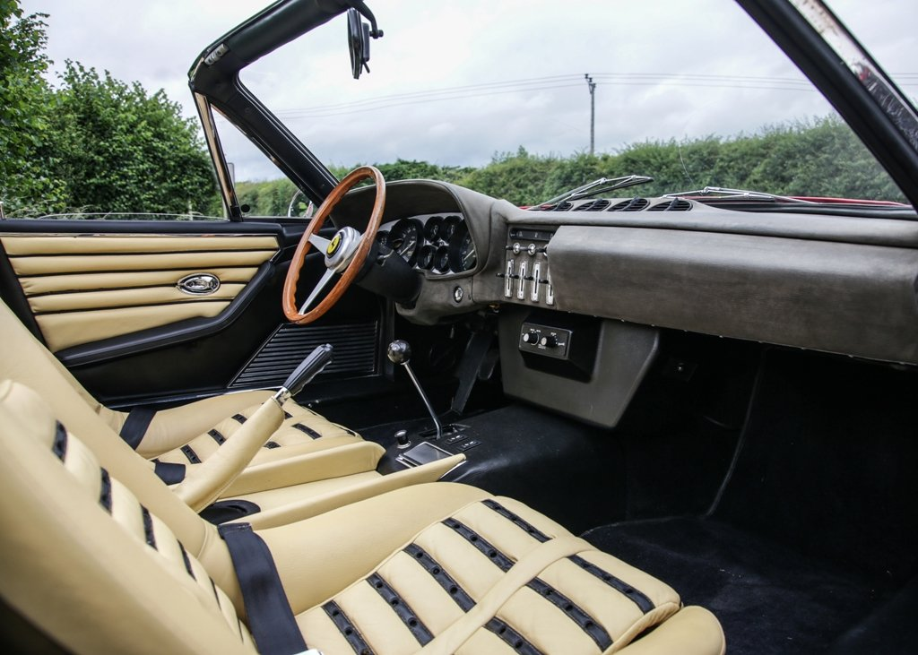1967 Ferrari 365 4 Daytona Spider by Scaglietti For Sale by Auction (picture 6 of 6)