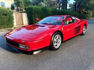 "1987 Ferrari Testarossa berlinette ""monospecchio"""