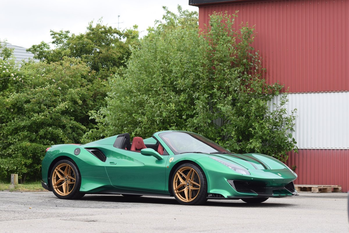 2019 Ferrari 488 Pista Spider For Sale by Auction (picture 1 of 1)