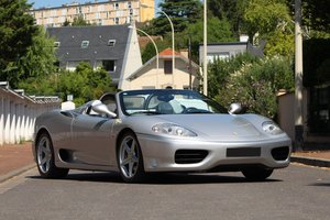 2001 Ferrari 360 Modena Spider F1 For Sale by Auction