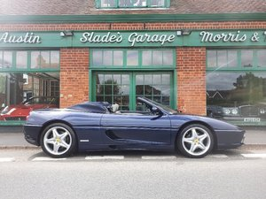 1996 Ferrari 355 Spider Manual