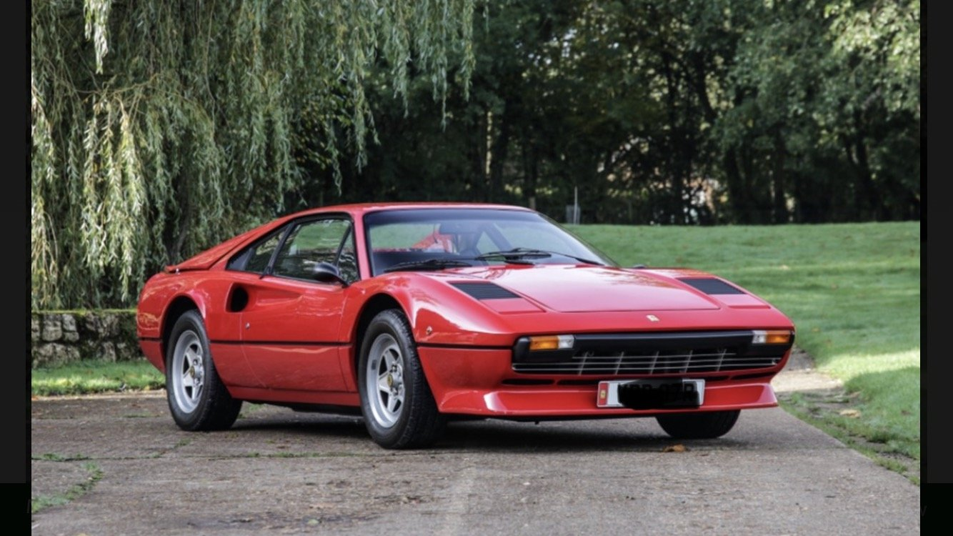 1981 Ferrari 208GTB For Sale (picture 1 of 6)