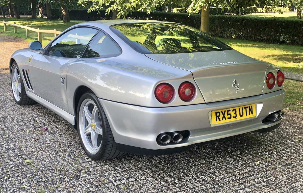 2003 Ferrari 575M, Fiorano handling pack, low miles For Sale (picture 2 of 6)