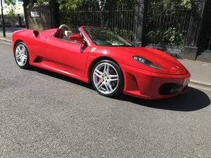 2008 FERRARI 430 SPYDER F1 For Sale by Auction