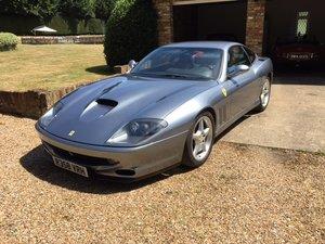 1998 Ferrari 550 Maranello LHD supplied in Germany