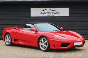 2004 Ferrari 360 - BEST EXAMPLE IN UK IMMACULATE