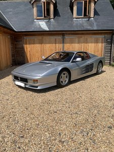 Ferrari Testarossa. UK Supplied. 30,800 miles