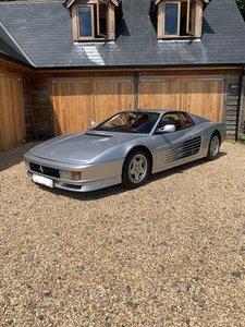 1990 Ferrari Testarossa. UK Supplied. 30,800 miles For Sale