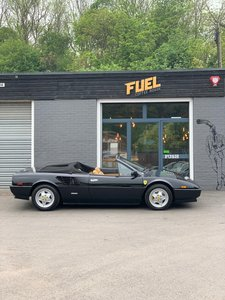 1985 Black Ferrari Mondial with full restoration