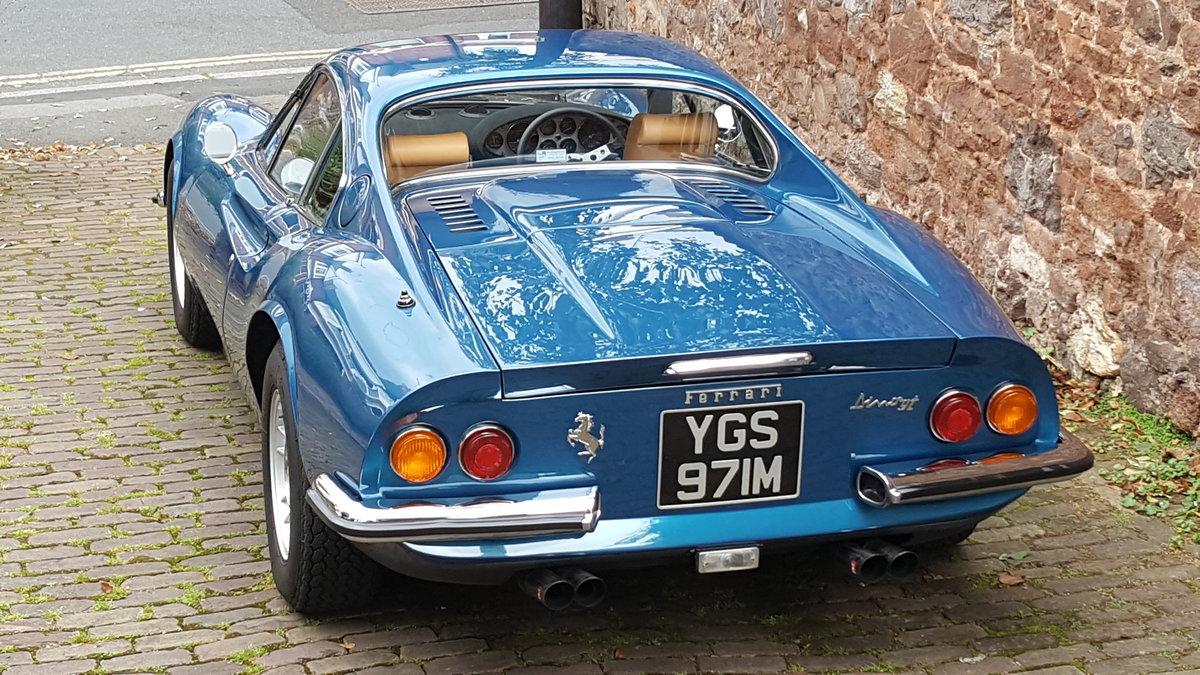 1973 RHD Ferrari Dino 246 GT - DEPOSIT TAKEN For Sale (picture 2 of 6)
